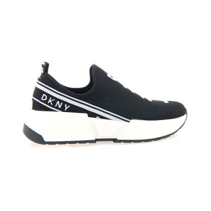 DKNY Marz Logo Women Casual Black Sneakers