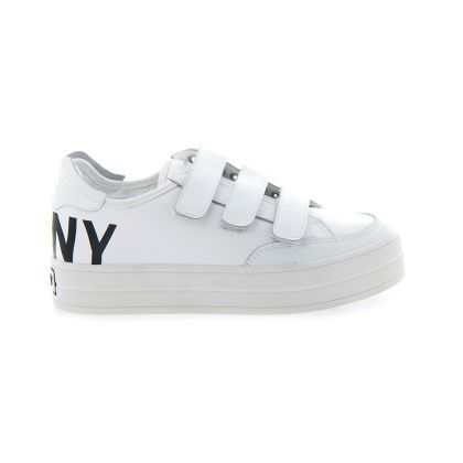 DKNY Savi Logo Women Casual White Sneakers