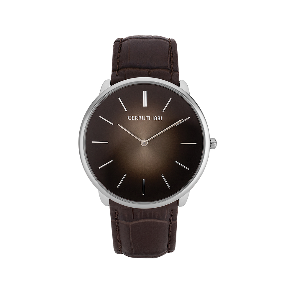 4ee2eff6a3 Cerruti 1881 Aldeno Men Brown Analog Watch